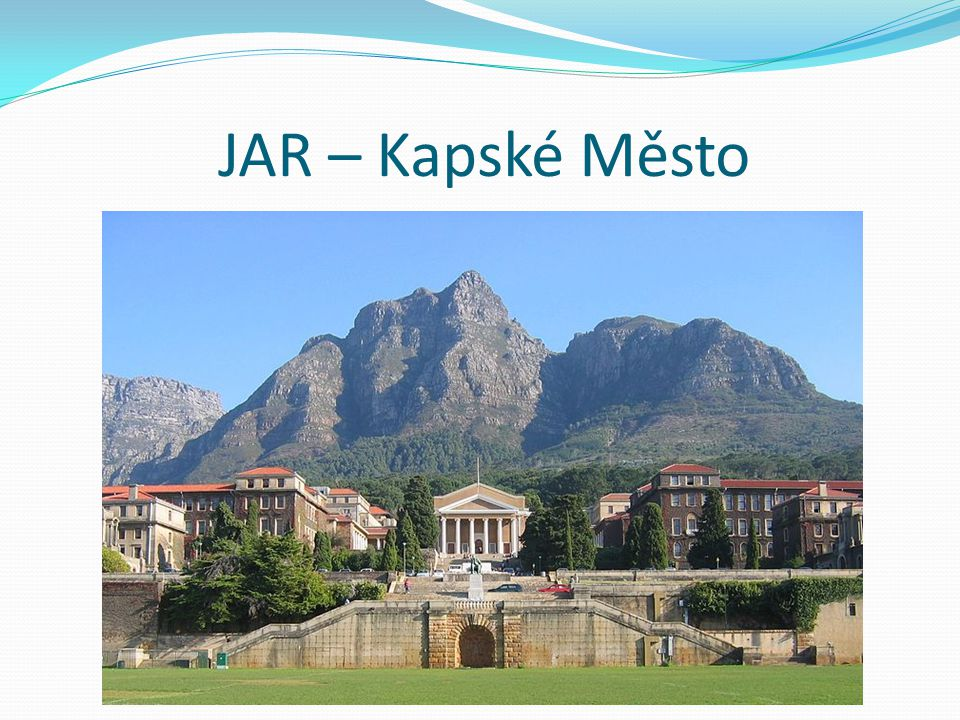 JAR – Kapské Město