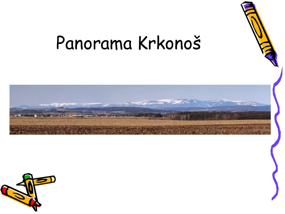Panorama Krkonoš