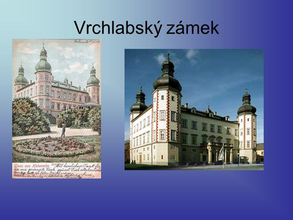 Vrchlabský zámek 1903