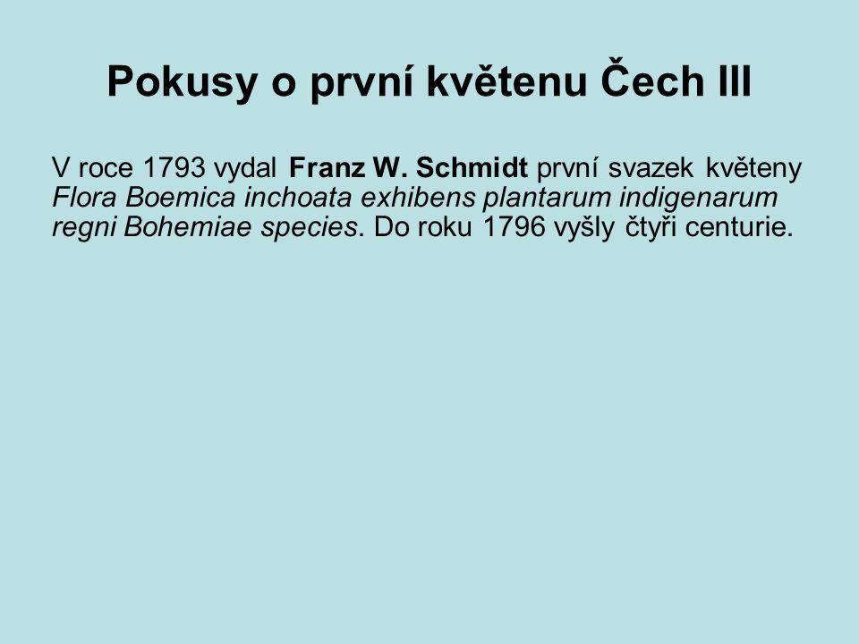 Současnost I zřízena Československá akademie věd založena Geobotanická laboratoř v Praze s pobočkou v Brně V roce 1954 navrhla Československá botanická společnost vydání velké květeny Československa; vyšly jen dva mykologické a jeden bryologický svazek.