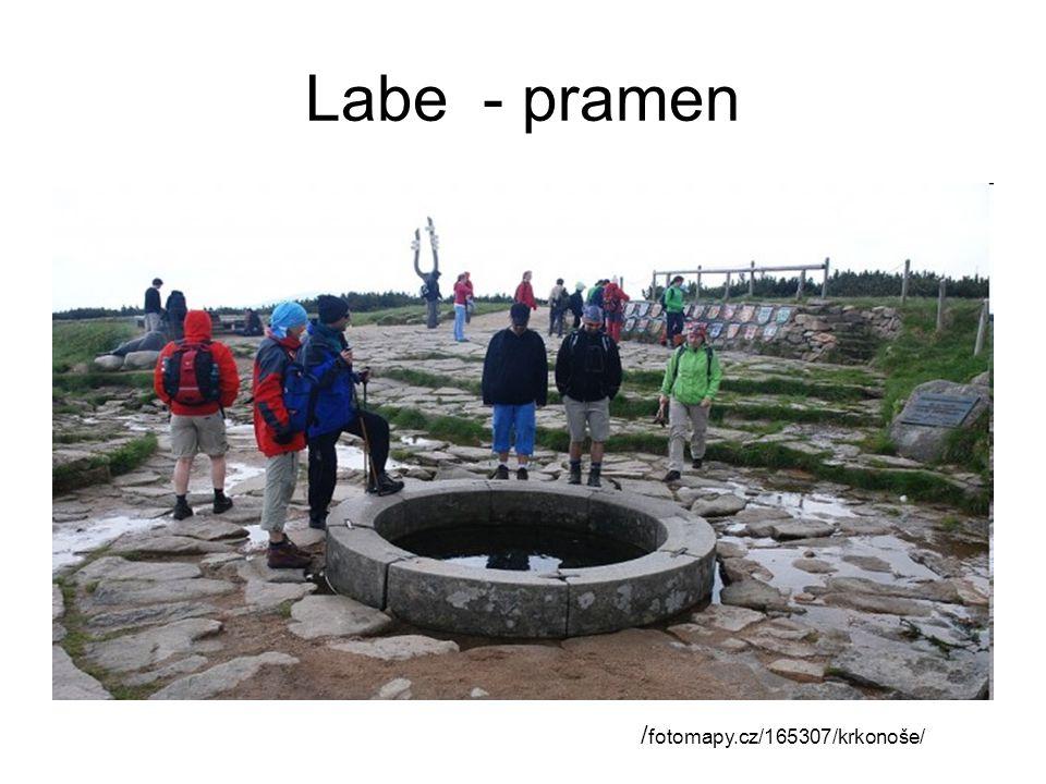 Labe - pramen / fotomapy.cz/165307/krkonoše/