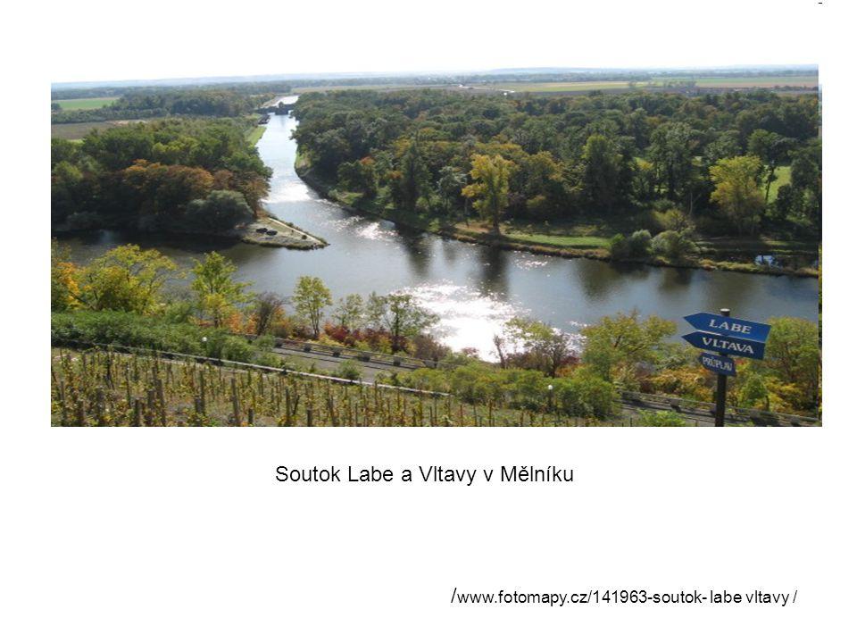 Soutok Labe a Vltavy v Mělníku / www.fotomapy.cz/141963-soutok- labe vltavy /