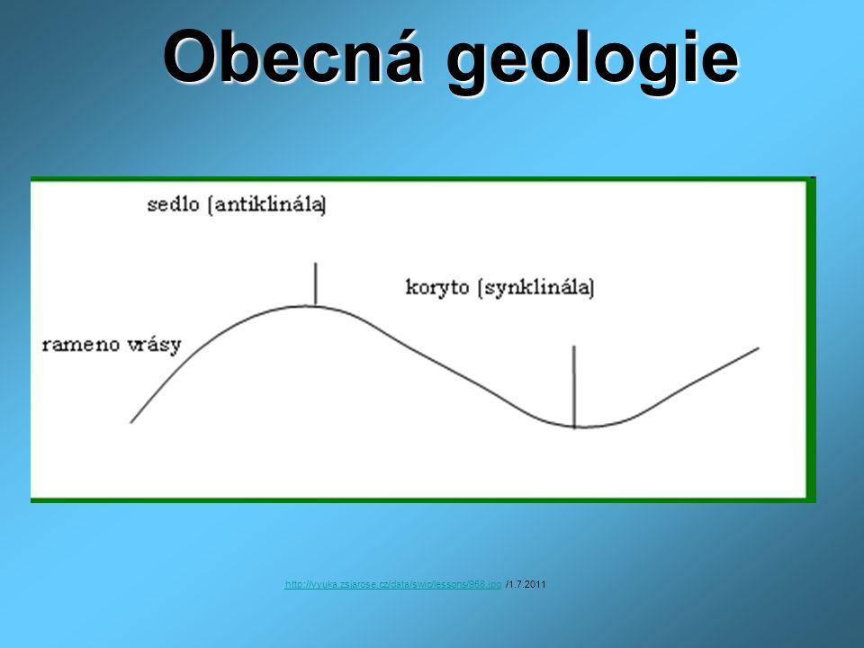 Obecná geologie http://vyuka.zsjarose.cz/data/swic/lessons/958.jpghttp://vyuka.zsjarose.cz/data/swic/lessons/958.jpg /1.7.2011