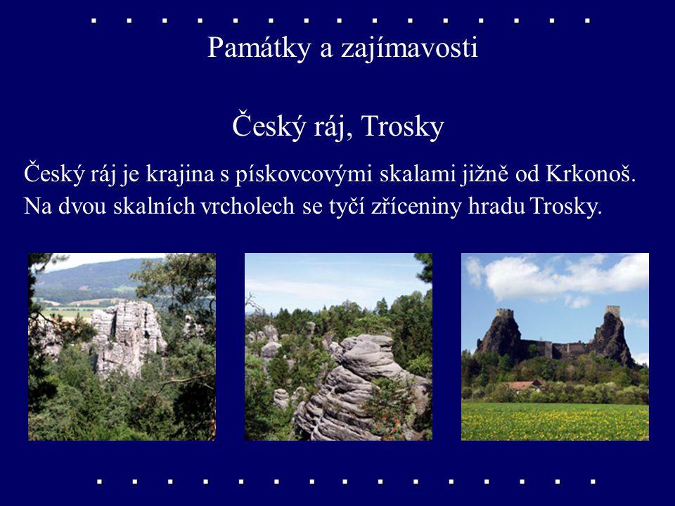 Města Náchod, Česká Třebová, Chrudim Náchod s výstavným zámkem leží u polských hranic. Česká Třebová je železniční křižovatka, Chrudim město loutek.