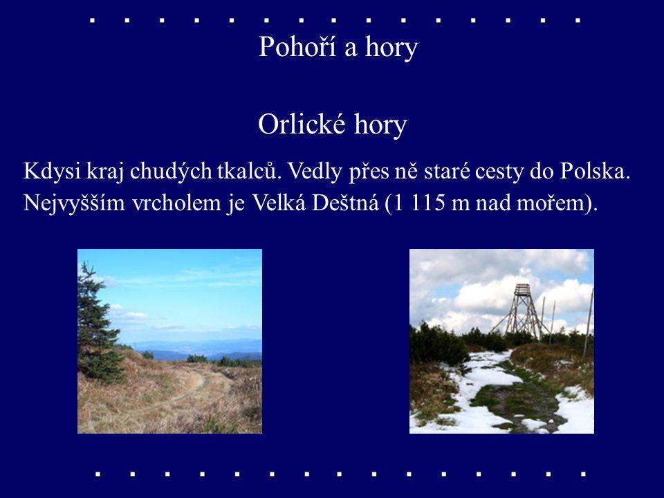 území oblíbené sportovci a turisty Východní Čechy Vyhledávejte v příruční mapě.