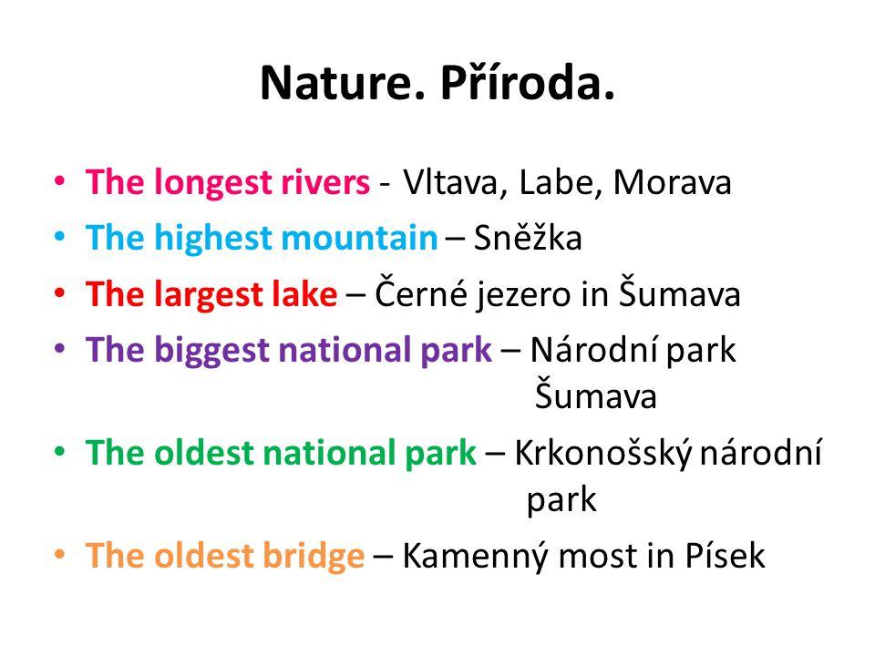 Nature. Příroda.