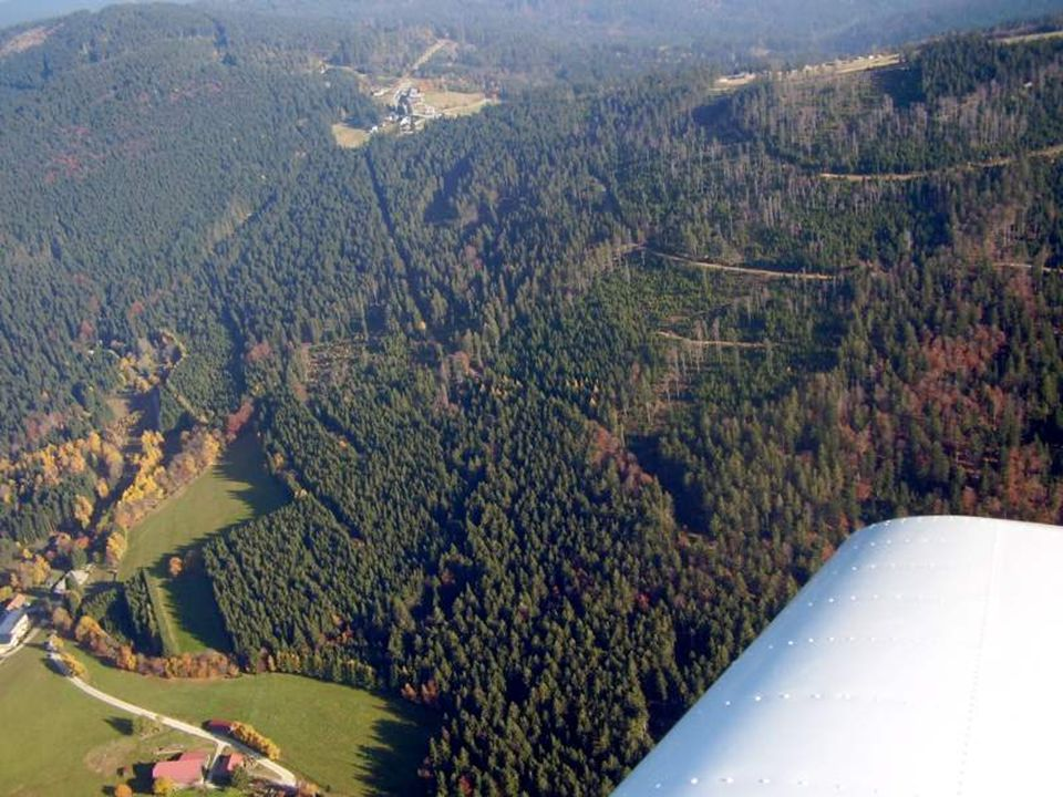 V Německu je také nízká oblačnost s mlhou