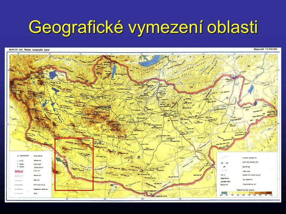 Geografické vymezení území
