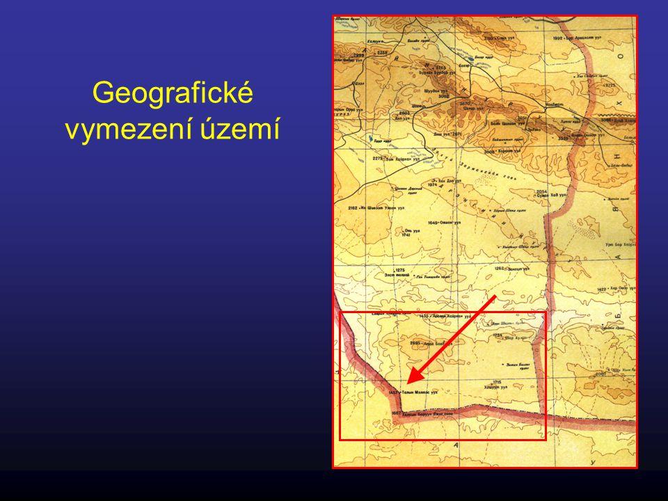 Geologická situace