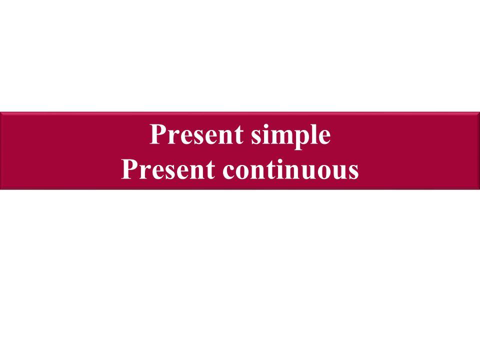Present simple děje,které se opakují I usually go to bed at 9.30 p.m.