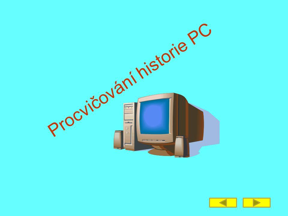 Procvičování historie PC