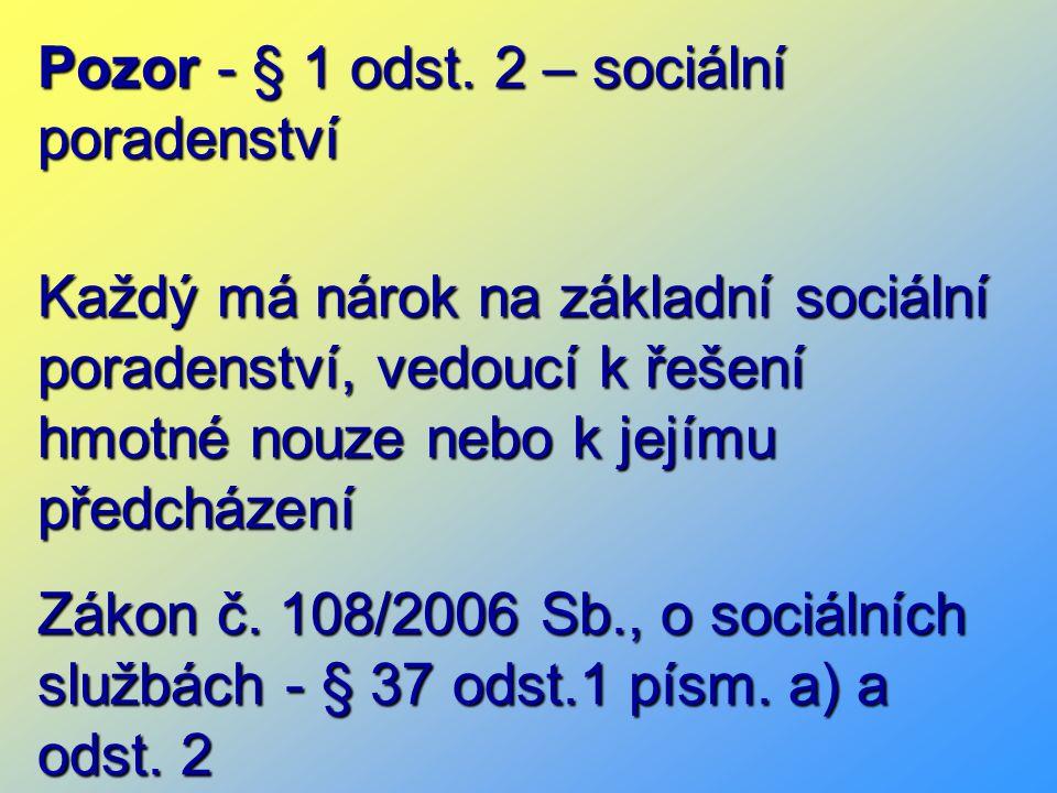 Pozor - § 1 odst.