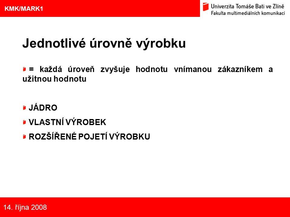 5 Eliška Kubíčková: Kulturní aspekty TV reklamy na pivo Jednotlivé úrovně výrobku = každá úroveň zvyšuje hodnotu vnímanou zákazníkem a užitnou hodnotu