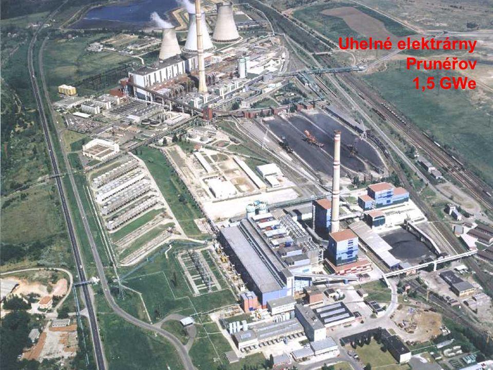 Uhelné elektrárny Prunéřov 1,5 GWe