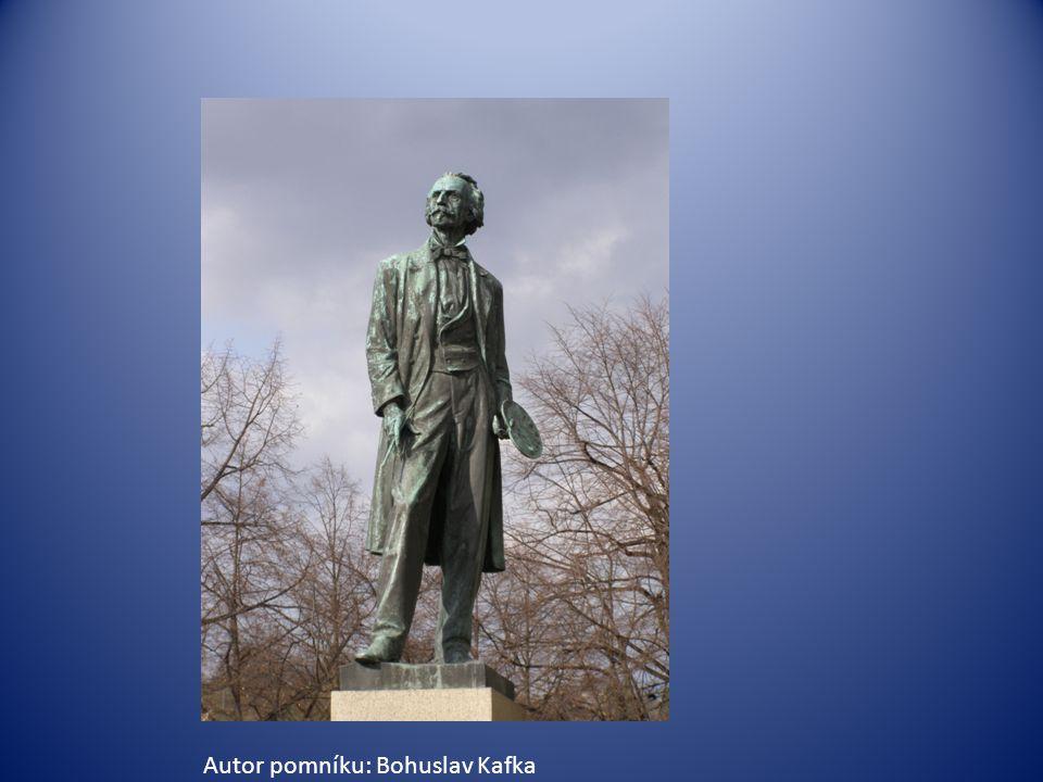 Autor pomníku: Bohuslav Kafka