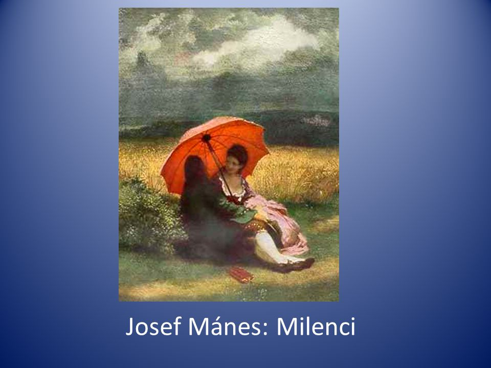Josef Mánes: Milenci