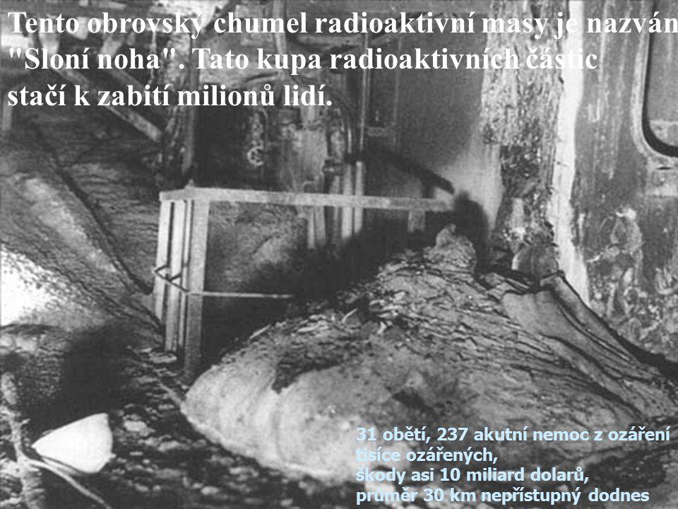 Jedno z nejrozsáhlejších míst koncentrace radioaktivního odpadu se nachází u Černobylského říčního přístavu.