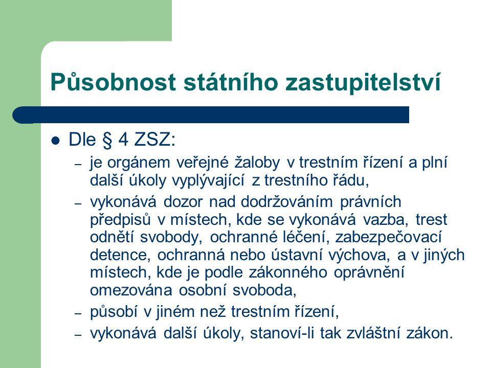 Historie státního zastupitelství Zákon č.