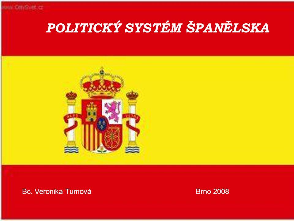 POLITICKÝ SYSTÉM ŠPANĚLSKA Bc. Veronika TumováBrno 2008
