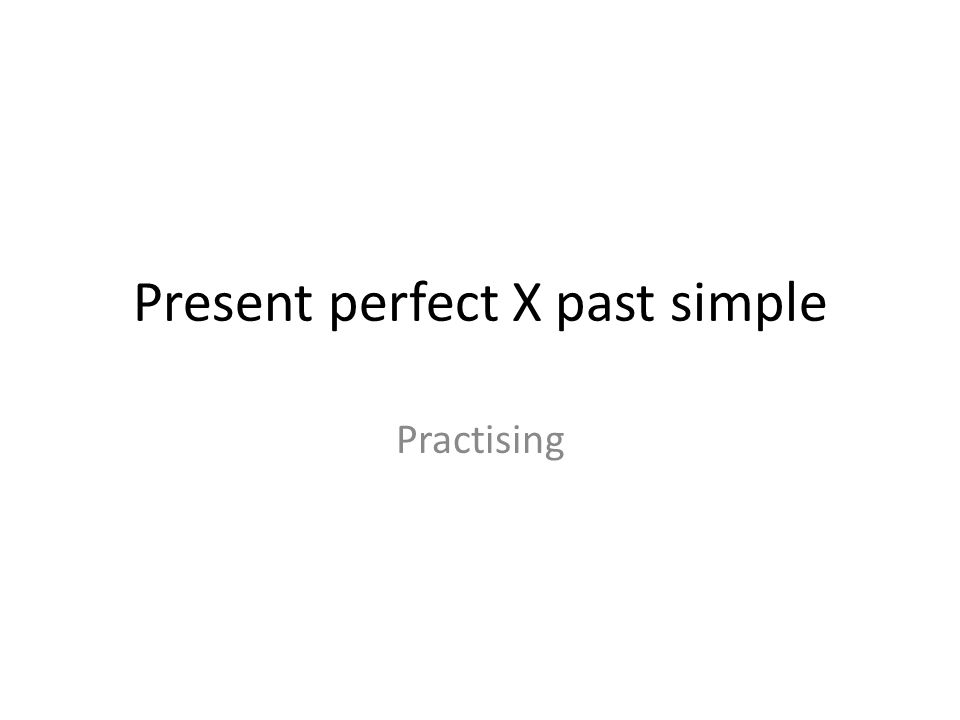 Put the verbs into present perfect or past simple: I ……………………..(ride) a horse many times.