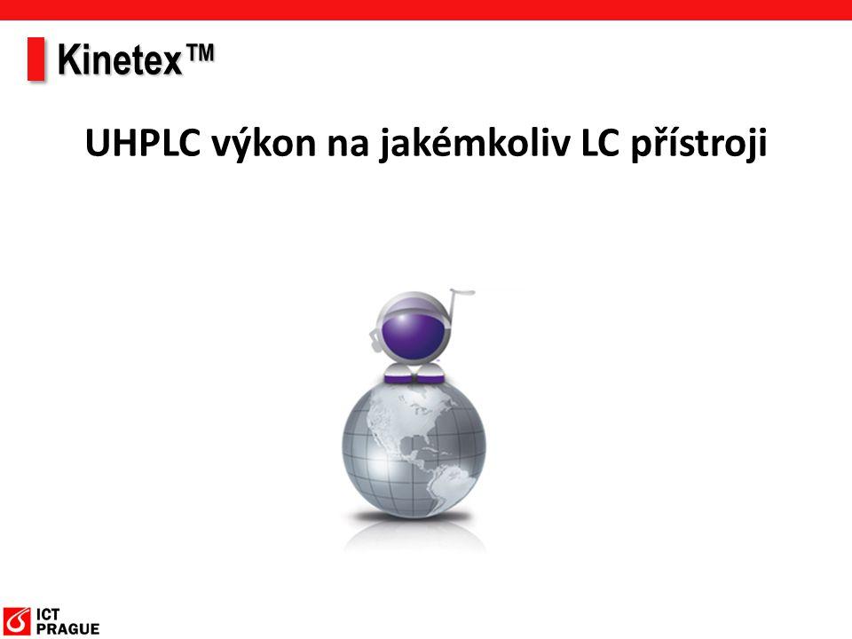 Kinetex™ UHPLC výkon na jakémkoliv LC přístroji