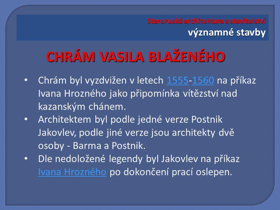 Chrám se skládá z osmi víceméně samostatných kostelů, symbolizujících jednotlivé dny rozhodujících bojů o Kazaň.