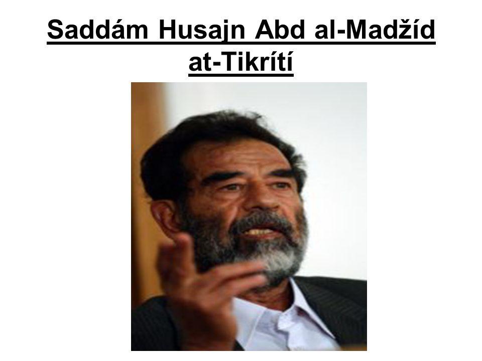 Saddám Husajn Abd al-Madžíd at-Tikrítí