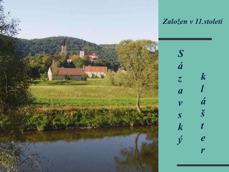 Sázavský klášter SázavskýSázavský klášterklášter Založen v 11.století