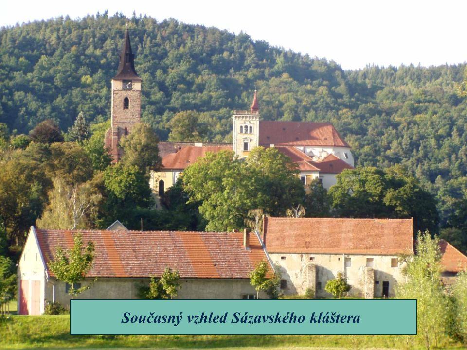 Současný vzhled Sázavského kláštera