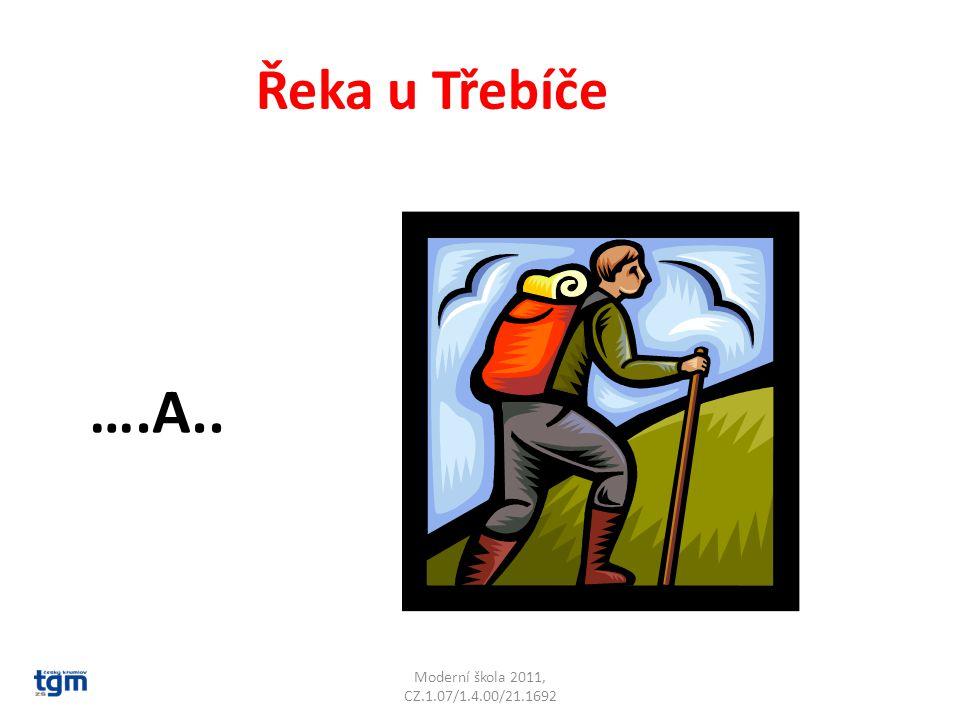 Řeka u Třebíče ….A.. Jihlava