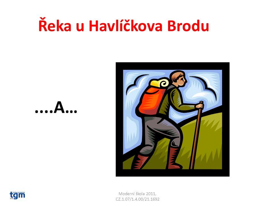 Moderní škola 2011, CZ.1.07/1.4.00/21.1692 Řeka u Havlíčkova Brodu....A… Šlapanka
