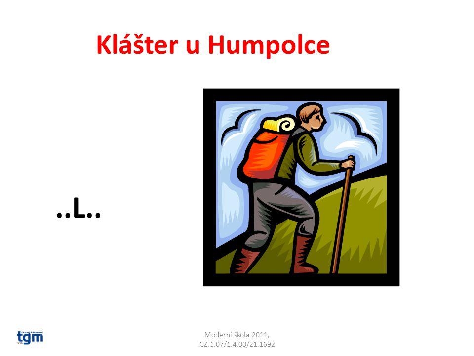 Moderní škola 2011, CZ.1.07/1.4.00/21.1692 Klášter u Humpolce..L.. Želiv