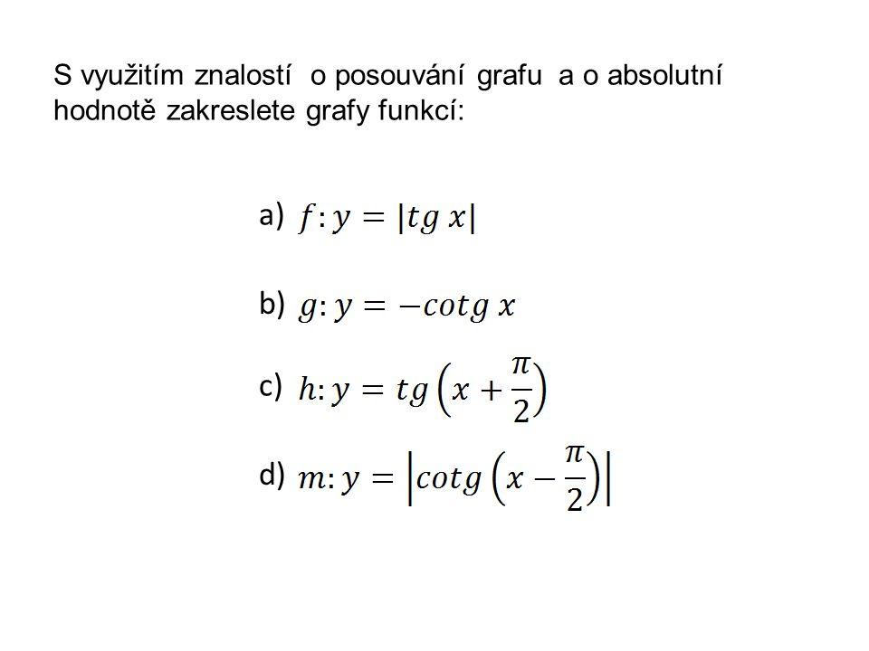 Řešení a) b)