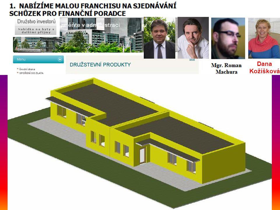 PROPOČET INVESTORA Dana Kožíšková
