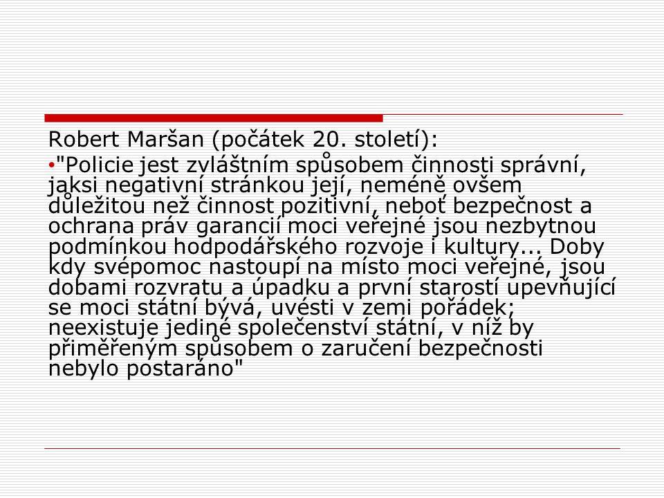 Robert Maršan (počátek 20.