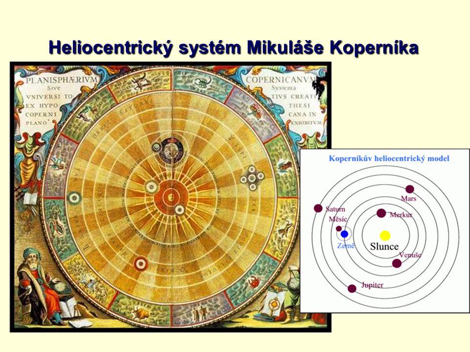 Heliocentrický systém Mikuláše Koperníka