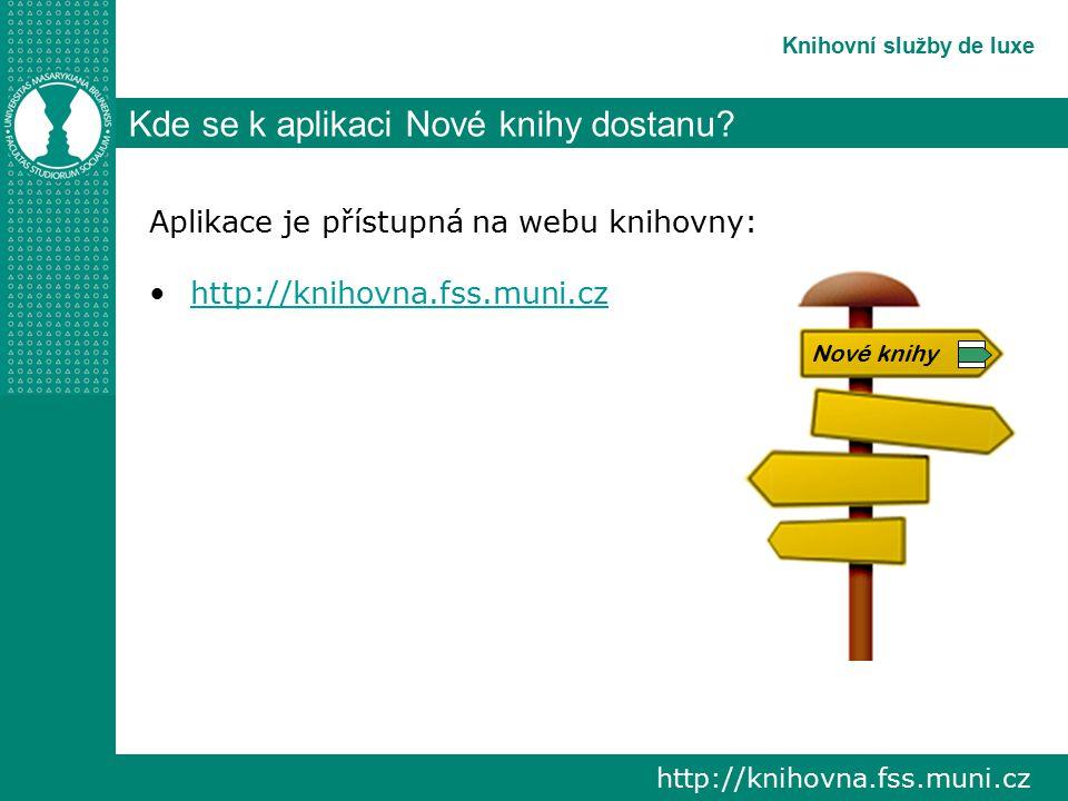 Knihovní katalog de luxe Závěr Děkuji za pozornost Ivana Svěráková Email: sverakov@fss.muni.czsverakov@fss.muni.cz Telefon: 54949 3137 Kancelář: 1.38 (přízemí)