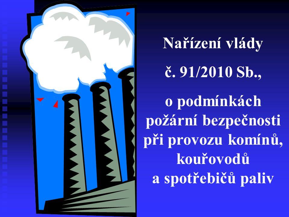 Toto nové nařízení vlády nabude účinnosti 1.ledna 2011 Zrušuje se : Vyhláška č.
