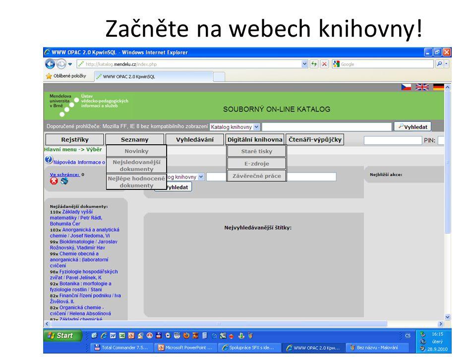 Databáze používané v ČR k hodnocení výsledků výzkumu Web of Science SCOPUS ERIH