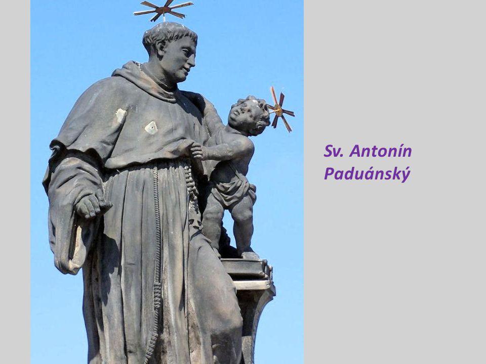 označení místa, kde byl Jan Nepomucký svržen do Vltavy