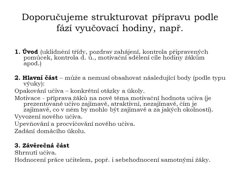 Výběr z literatury PASCH, M.a kol.