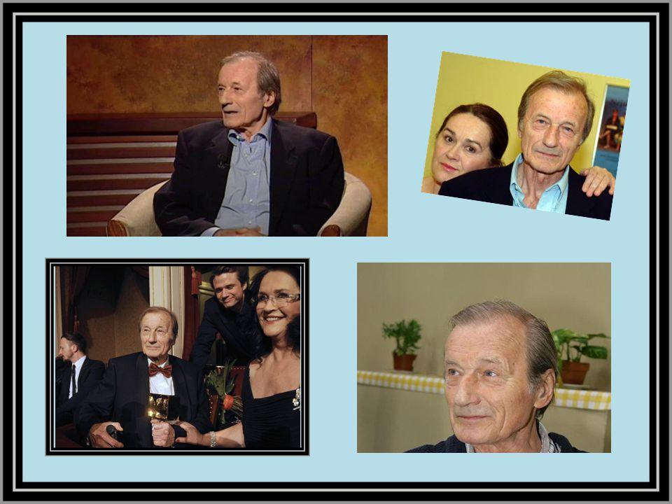 Ještě v předvečer své smrti natáčel svůj poslední televizní seriál Vyprávěj.