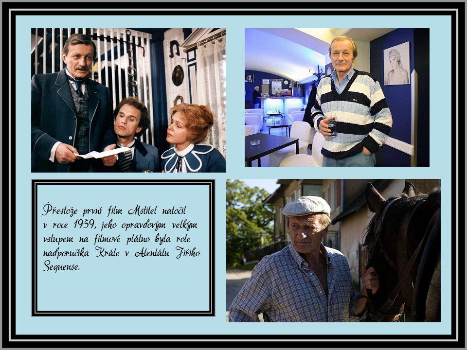 Hrál v Karlínském hudebním divadle, kde exceloval v roli Řeka Zorby.