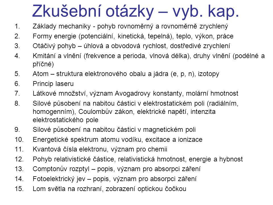 Zkušební otázky – rad.fyz.