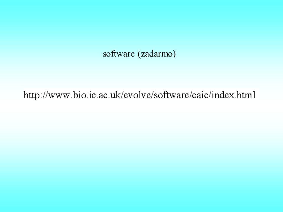 software (zadarmo)