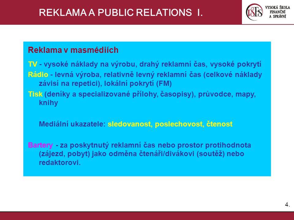 5.5.REKLAMA A PUBLIC RELATIONS II.