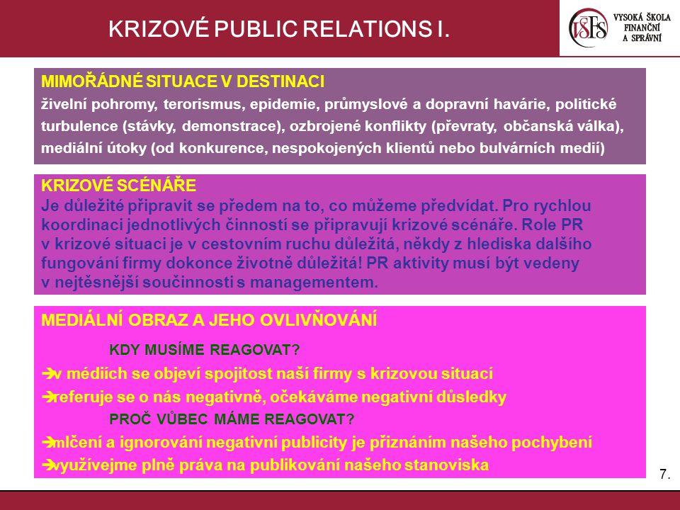 8.8.KRIZOVÉ PUBLIC RELATIONS II.