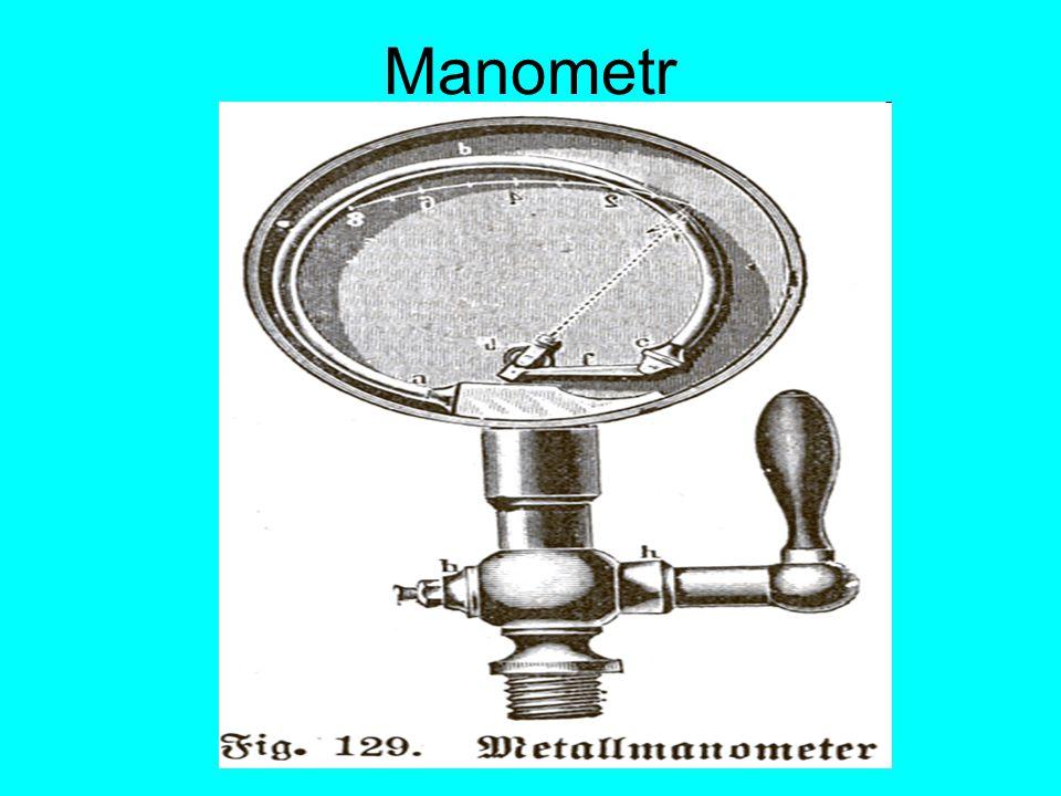 Manometr