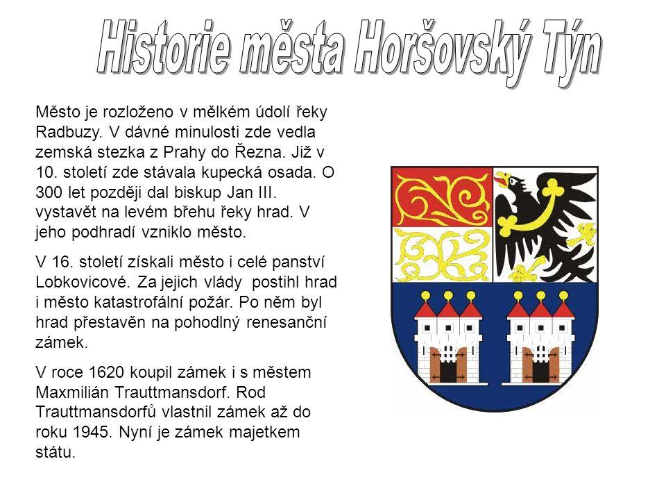 Město je rozloženo v mělkém údolí řeky Radbuzy. V dávné minulosti zde vedla zemská stezka z Prahy do Řezna. Již v 10. století zde stávala kupecká osad