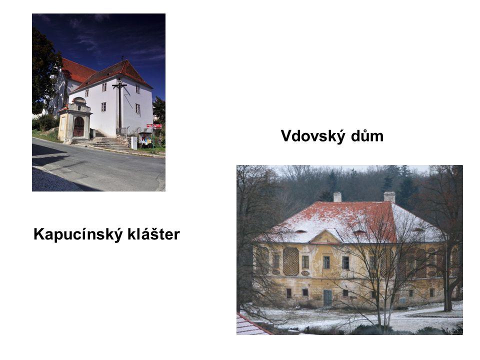 Kapucínský klášter Vdovský dům